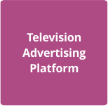 Television advertising platform,ad8radio